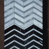 건축재료 Binano Carrara 백색 생선 비늘 모자이크 타일