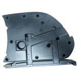 Apoyabrazos del moldeo por insuflación de aire comprimido de la silla
