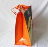 Kundenspezifische Fabrik-Förderung lamellierte gesponnene Einkaufstasche