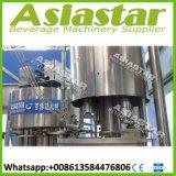 Agua mineral de la botella automática 3L-18L que aclara la maquinaria que capsula de relleno