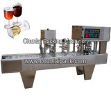 De Vullende en Verzegelende Machine van de plastic Drinkbeker