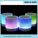 Bunter heller MiniBluetooth Lautsprecher LED-mit FM Radio, Zusatzzeile Ine, USB-Schlitz und Zoll-Firmenzeichen-Service