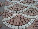 Soleras naturales / G648 Granito Rosa / piedra cúbica de jardín de piedra pavimentadora / paisaje