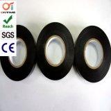 Schwarzer Belüftung-Klebstreifen für elektrischen Schutz mit RoHS genehmigt (19mm*20m)