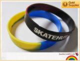 Faixa de Wirst do silicone, faixa de borracha, bracelete