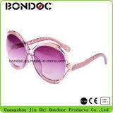 2016 grandes lunettes de soleil neuves de bâti de vente chaude pour des femmes