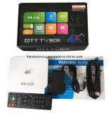 De Snelheid Kodi 17.0 van de Vorm WiFi van Intbox Ap6330 5GHz de Doos van TV met Ver Controlemechanisme