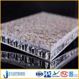 Granito da pedra do preço de China painel de alumínio do favo de mel do melhor para o revestimento da parede