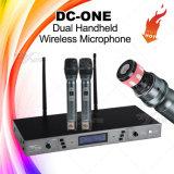 DC-One barato profesional UHF Micrófono inalámbrico Karaoke
