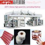 Maquinaria seca da laminação OPP de Qdf-a da película de alta velocidade da série