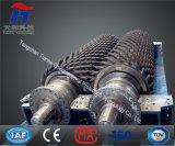 Triturador de rolo dobro usado para o esmagamento do seixo