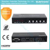 Interruptor del Multi-Espectador HDMI de V1.4 HDMI 2X1 con la pipa