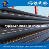Трубопровод полиэтилена высокой плотности газа конкурентоспособной цены пластичный