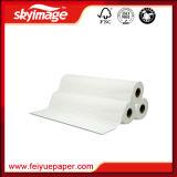 90GSM 17 '' *100m jejuam papel de transferência seco do Sublimation da tintura para a impressão de matéria têxtil