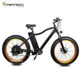 Bici grassa elettrica piena della batteria di litio della sospensione del mozzo del motore del blocco per grafici di alluminio senza spazzola posteriore della montagna