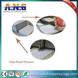 カスタムプラスチックシート13.56MHz受動RFIDの象眼細工/ICのカード