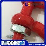 G2130 wir Typ Absinken schmiedete Bogen-Fessel-galvanisierte/Bolzenanker-Fessel