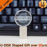 ギフト(YT-3270-10)として創造的な拡大鏡またはレンズの水晶USB Pendrive