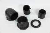 DIN/En/ISO zugelassene verschiedene Größe HDPE Befestigungen für HDPE Pn16/Pn12.5 Rohrleitung