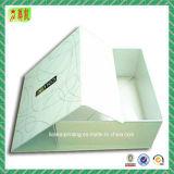 Custome imprimió el rectángulo de papel rígido reciclable para el regalo