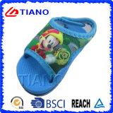 Cotone del Disney con il sandalo di EVA del Velcro per i bambini (TNK35569)