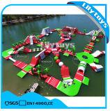 Park van het Water van Commerical het Volwassen Opblaasbare Drijvende voor Verkoop