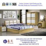 Jogos de quarto de madeira da mobília do quarto do hotel de luxo (B701A#)