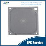 Automatische hydraulische Filterpresse-Membranfiltration-Platte