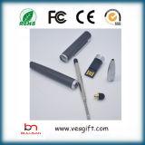 Memoria del USB de la pluma de la escritura de la pluma del USB del grabado del laser de la fuente