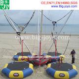 Trampoline de saut à l'élastique en plein air à vendre, trampoline gonflable à l'élastique