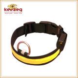 LED 재충전용 애완견 나일론 고리 또는 추가 색깔 (KC0086)