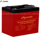 Batterie profonde de gel de cycle, 12V batterie, batterie de longue vie
