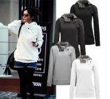 Großhandels plus Größen-Frauen-preiswerten Sport-Klage-Pullover Hoodie
