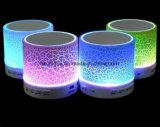 Altoparlante impermeabile senza fili chiaro del LED Bluetooth con la radio di FM