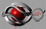 Sterlingsilber-Perlen-Rahmen-Anhänger der DIY Schmucksache-925