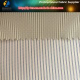 Blue Women Fur Clothing Lining in Cheap Yarn Dyed Polyester Fabric (S159.160)