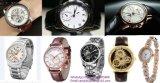 Relógios de madeira luxuosos de Wholealse da fábrica do relógio do relógio de madeira automático de esqueleto do relógio
