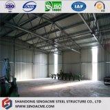 Costruzione prefabbricata/magazzino della struttura d'acciaio di basso costo del fornitore della Cina