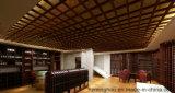 Подгоняйте винный погреб погреб для деревянной индикации вина хранения вина мебели