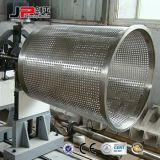 Grande macchina d'equilibratura dinamica orizzontale del rotore di turbina