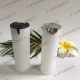 15ml 30ml 50ml Pearl White Acrylic Cream Bottle for Cosmetic Packaging (PPC-ALB-065)
