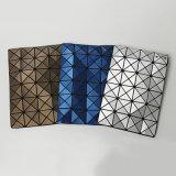 Matt blauer PU-rhombischer geometrischer Schulter-Beutel (A074-4)