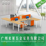 Mobília de escritório da divisória do escritório da mesa de escritório da boa qualidade com gabinete movente