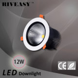 12W aluminio LED Downlight con el proyector de Ce&RoHS LED