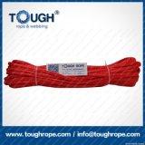 빨간 합성 물질 UHMWPE 윈치 밧줄 9.5mmx28moff 도로 차 윈치 밧줄