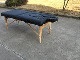 Tableau enceinte de massage de bois de construction, bâti de massage