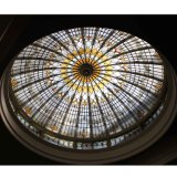 China Fabricante Home Building Suspended Stained Glass Panels ceiling