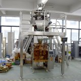 Maquinaria vertical del embalaje del gránulo del pesador de 14 pistas