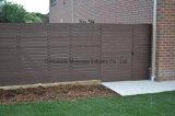 Frontière de sécurité environnementale extérieure grise du composé 88 en plastique en bois solide