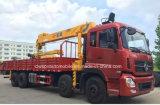 270hp 8x4 화물 자동차 14t 트럭은 기중기로 거치했다